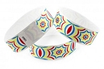 HYPNOTIC Tyvek  wristband pattern Multi-Color image