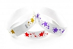 Star Pattern tyvek wristbands