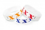 XX Pattern tyvek wristband pattern (500 per box) Paper wristbands