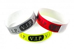 V.I.P. tyvek Wristbands Multi-Color Image