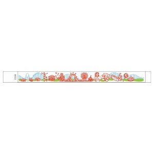 Carnival Pattern Tyvek Multi-Color print